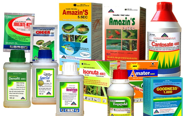 Loại bỏ hơn 300 nhãn hiệu thuốc bảo vệ thực vật