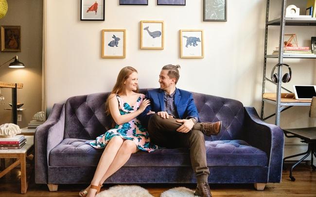 Căn hộ 39m² của cặp vợ chồng son khiến bao người ao ước
