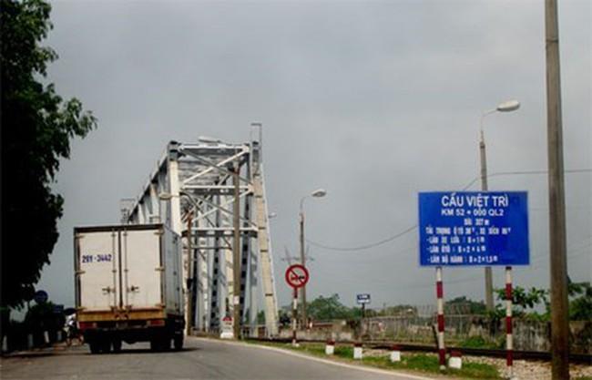 Dừng đề xuất giao cầu Việt Trì cho nhà đầu tư BOT