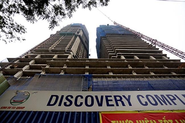 Dự án Discovery 302 Cầu Giấy thuộc đối tượng được miễn giấy phép xây dựng