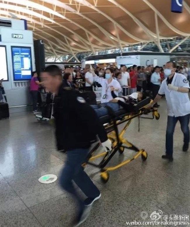 Đã tìm ra nguyên nhân gây vụ nổ tại sân bay Thượng Hải