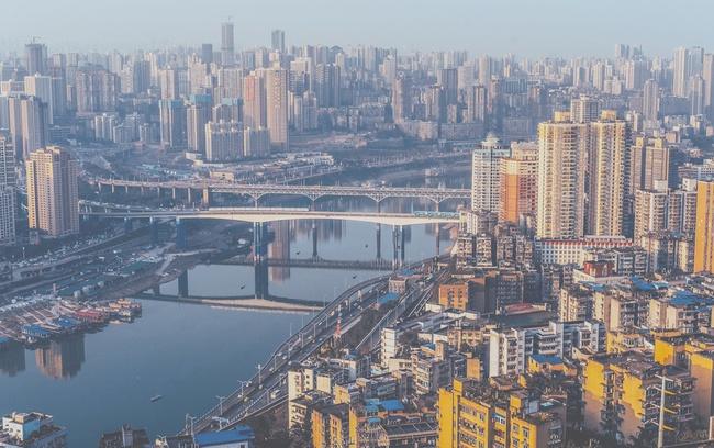 """""""Chóng mặt"""" với sự phát triển của các siêu đô thị Trung Quốc nhìn từ ảnh chụp vệ tinh"""