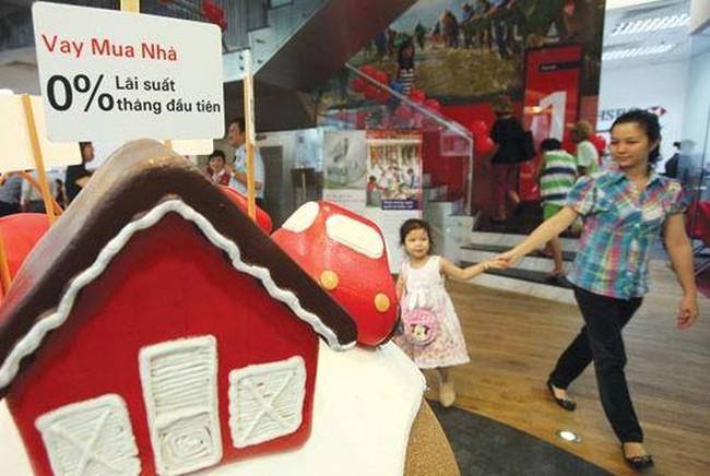 Dư nợ tín dụng bất động sản tăng mạnh