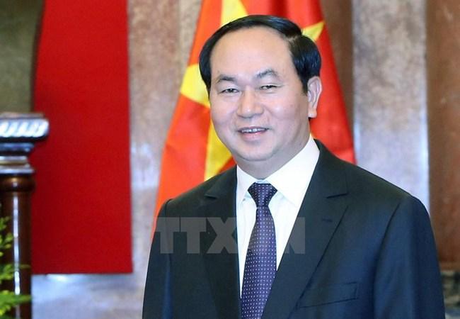 Chủ tịch nước Trần Đại Quang sẽ thăm Lào và Campuchia