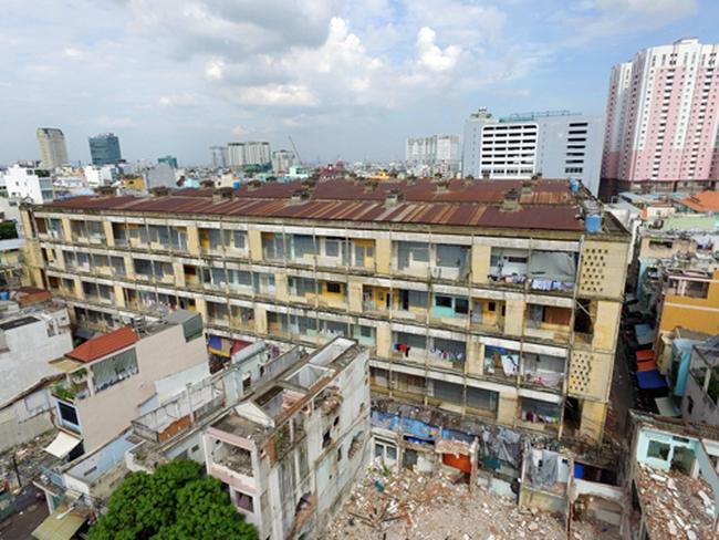Hy vọng mới cho chung cư cũ