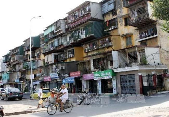 Hà Nội di dời khẩn cấp cư dân ở nhiều khu tập thể nguy hiểm