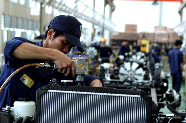 Sản xuất công nghiệp tăng 5,9% so với cùng kỳ