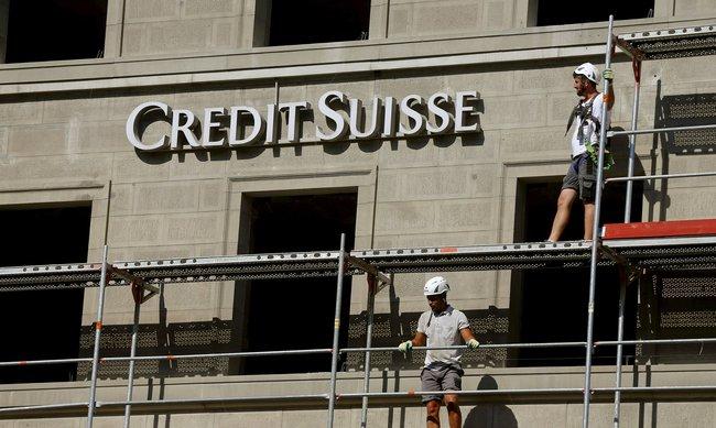 Thua lỗ nặng, cổ phiếu Credit Suisse thấp nhất kể từ 1992