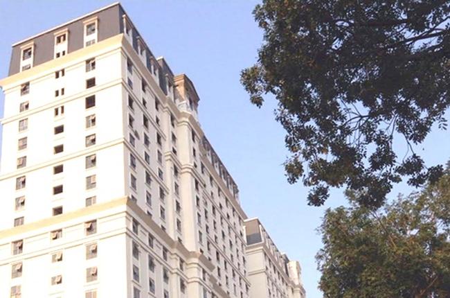 Toàn bộ căn hộ tòa nhà D2 Giảng Võ bị ngừng cấp sổ đỏ