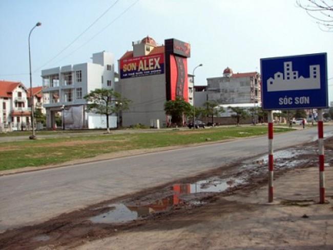 Đấu giá đất tại Sóc Sơn: Giá khởi điểm thấp nhất 1,2 triệu đồng/m2