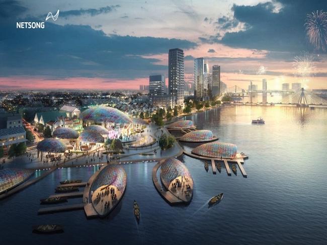 Chiêm ngưỡng phương án thiết kế đôi bờ sông Hàn