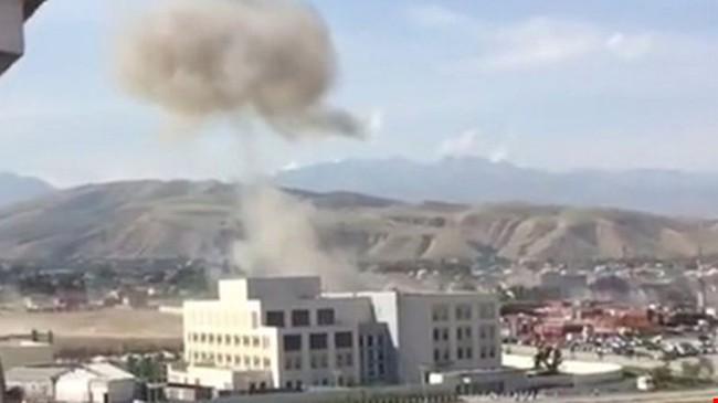 Nổ lớn tại Đại sứ quán Trung Quốc ở Kyrgyzstan