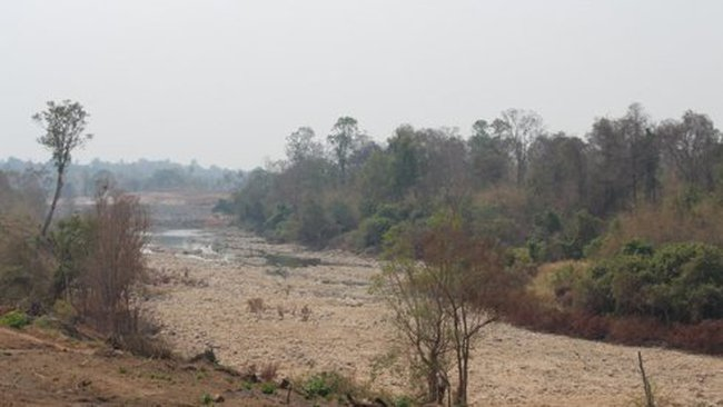 """Đập thủy điện Don Sahongchắn ngang """"tử huyệt"""" sông Mekong"""