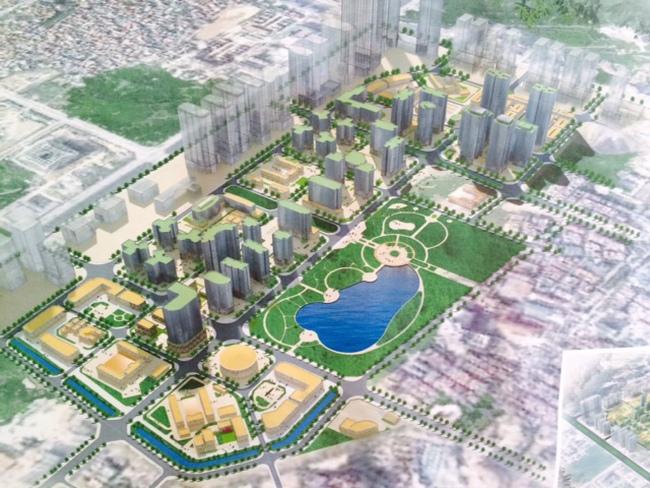 Hà Nội điều chỉnh cục bộ ô quy hoạch B4, Khu đô thị mới Tây Nam Hà Nội