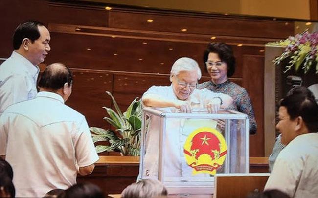 Quốc hội đã bỏ phiếu bầu Chủ tịch Quốc hội khoá 14