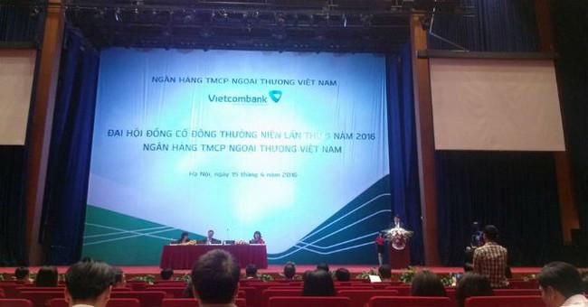 ĐHĐCĐ Vietcombank: Ngân hàng vẫn đang trong quá trình tìm kiếm đối tác sáp nhập