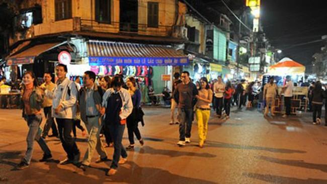 Hà Nội: Thêm nhiều phố đi bộ quanh hồ Hoàn Kiếm từ 1/10