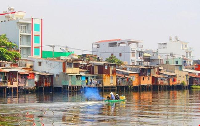TP.HCM: Sẽ di dời nhà trên kênh rạch đến năm 2020