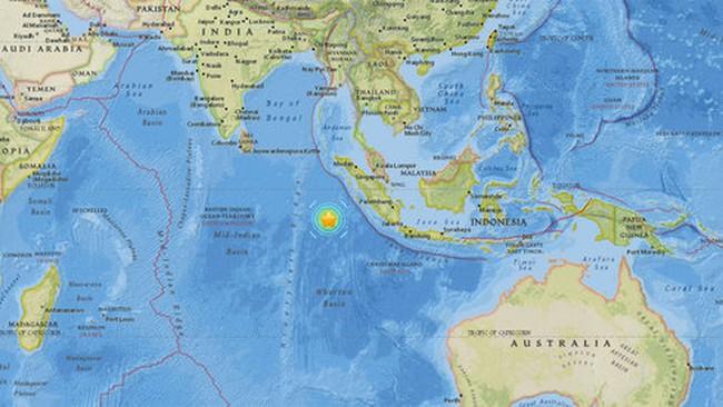 Indonesia, Úc cảnh báo sóng thần sau động đất mạnh 7,9 độ