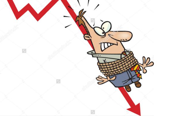 """VnIndex bất ngờ giảm sâu 13 điểm, nhiều nhà đầu tư """"mất tết"""""""