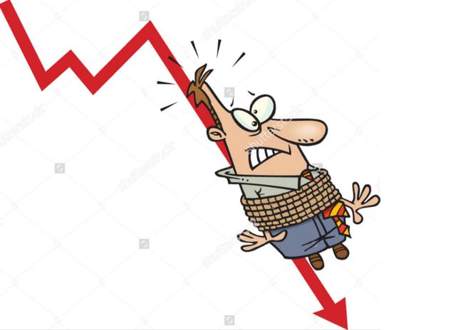 Những cổ phiếu sụt giảm kinh hoàng cướp đi nghìn tỷ của nhà đầu tư