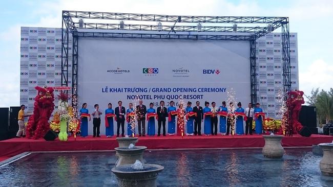 CEO Group khai trương khu nghỉ dưỡng cao cấp Novotel Phu Quoc Resort