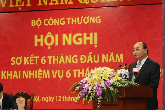 Thủ tướng: Phải tái cơ cấu chính bộ máy của Bộ Công thương