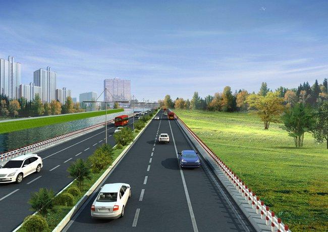 Sắp làm đường nối đô thị vệ tinh với trung tâm Thủ đô