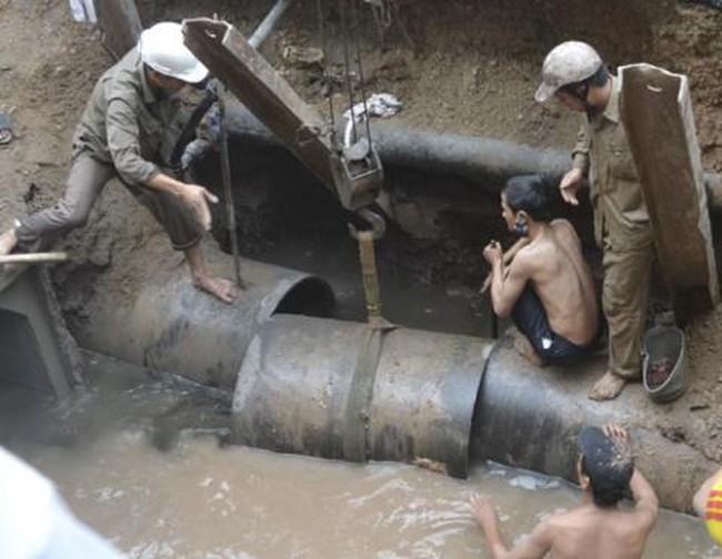 Đường ống sông Đà 2: Vì sao Hà Nội chọn Vinaconex?