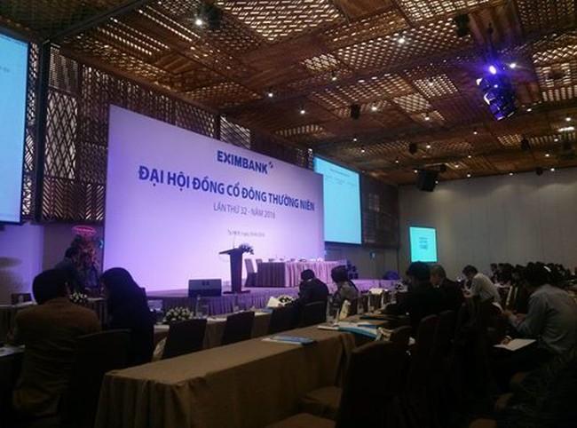 ĐHĐCĐ Eximbank: Chính thức hoãn tổ chức do 2 nhóm cổ đông không đến