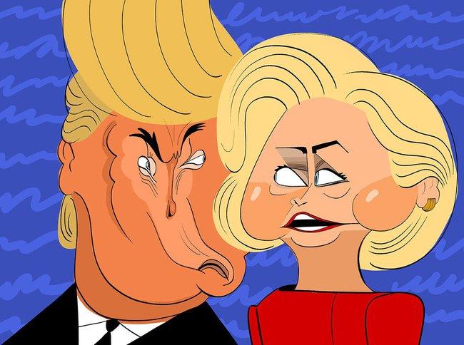 Lời nói dối quan trọng nhất của Donald Trump là về Hillary Clinton