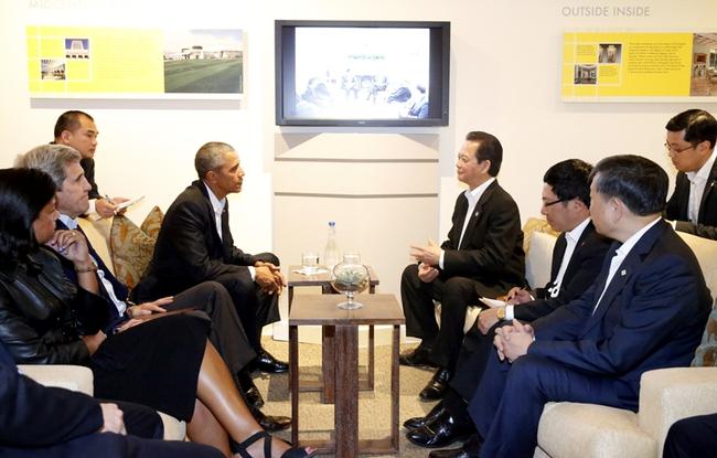 Thủ tướng Nguyễn Tấn Dũng với cuộc gặp lịch sử cùng Tổng Thống Obama