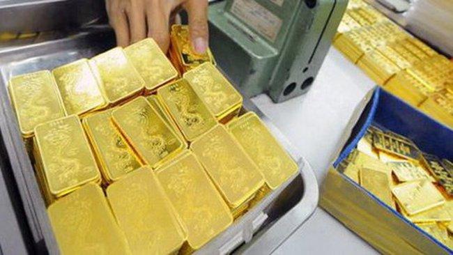 Một tuầngiá vàng tăng thêm 530.000 đồng/lượng