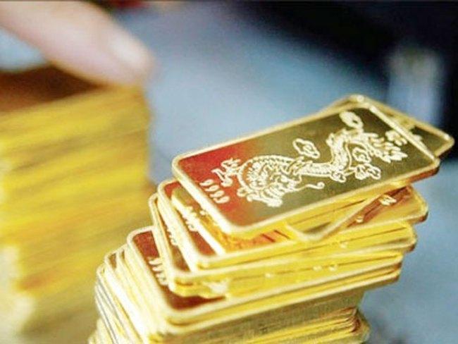 Vàng mất giá mạnh, còn dưới 32,8 triệu đồng/lượng