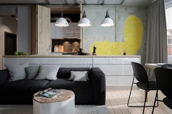 Hai căn hộ với thiết kế hiện đại cho người yêu thích sự trẻ trung và phá cách