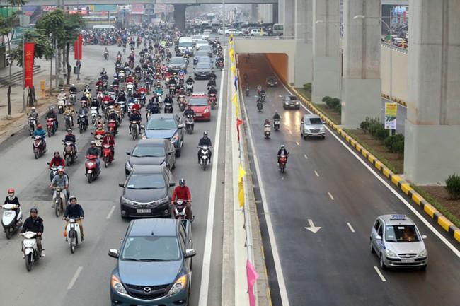 Những đột phá phát triển hạ tầng giao thông Hà Nội