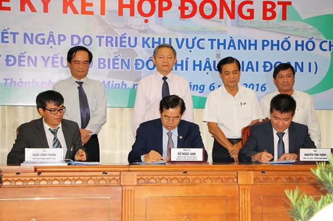 TP. Hồ Chí Minh triển khai dự án 10.000 tỷ đồng chống ngập