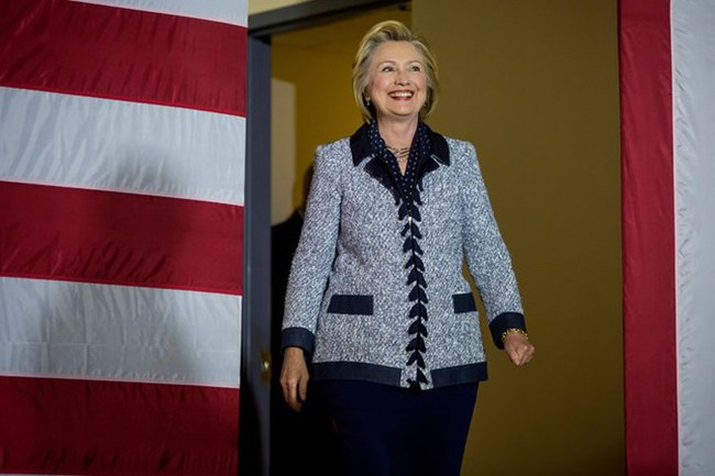 Bà Hillary Clinton thắng trong cuộc bầu cử sơ bộ ở Washington