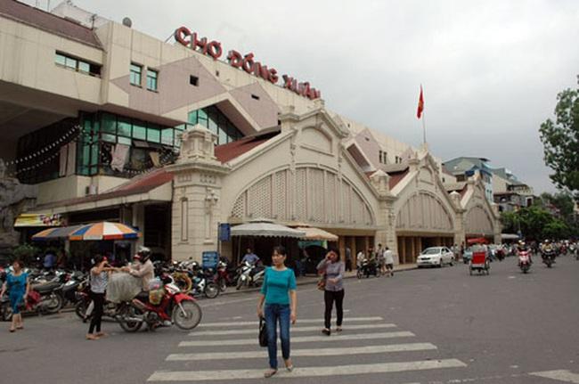 Đề xuất xây lại chợ Đồng Xuân