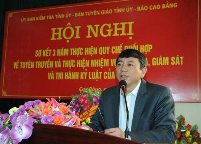 Chủ tịch Cao Bằng hiện nay là ai?