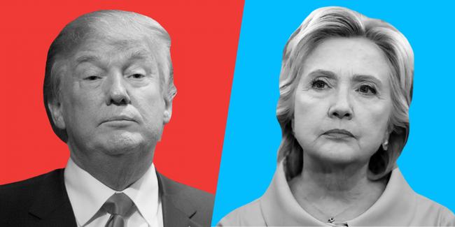 """Giới phê bình ủng hộ Clinton, Trump chiến thắng trong lòng """"dân mạng"""""""