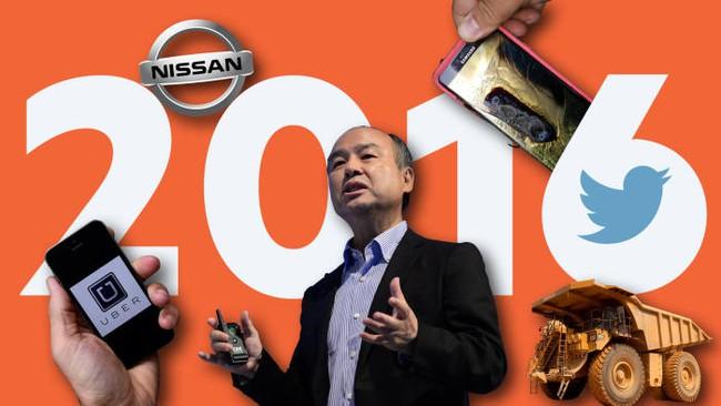 Nhìn lại năm 2016 của các doanh nghiệp hàng đầu thế giới