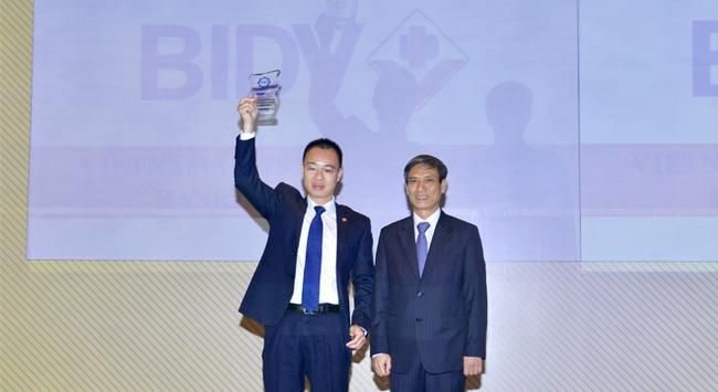 BIDV nhận giải Ngân hàng bán lẻ tiêu biểu 2016