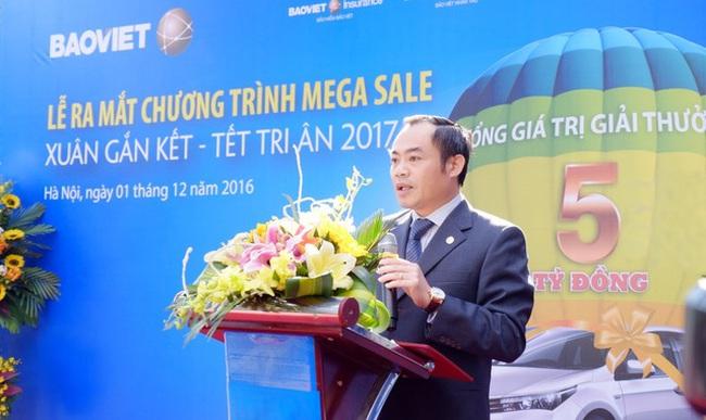 """Tập đoàn Bảo Việt ra mắt Chương trình khuyến mãi tích hợp """"Xuângắn kết - Tết tri ân""""2017"""