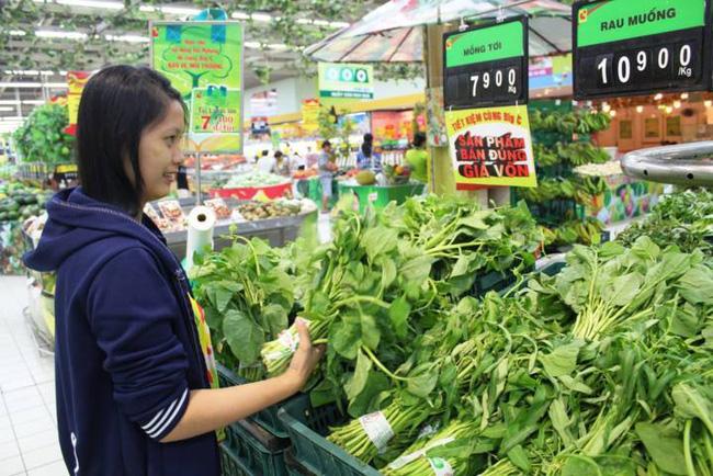 Hà Nội: Mặc giá rau tăng 60%, CPI chỉ tăng nhẹ 0,47%