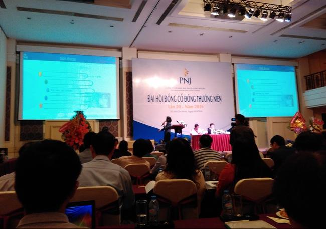 Đại hội cổ đông PNJ: Nếu nới room sẽ không có lợi cho hoạt động của công ty