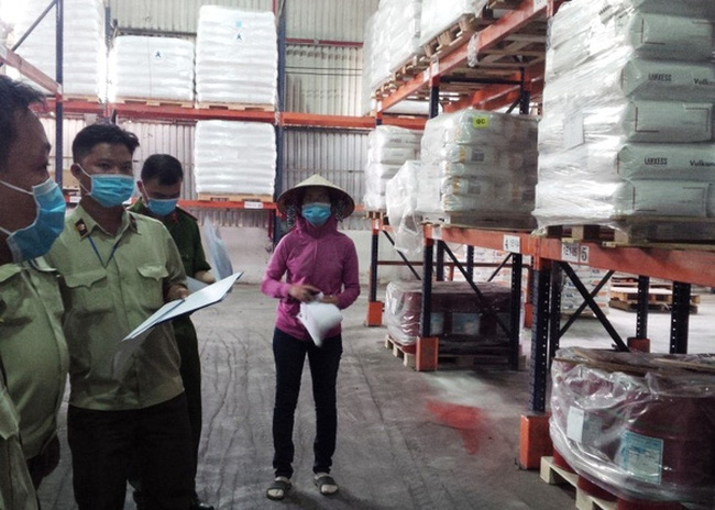 Tạm giữ 300 tấn hóa chất dùng trong chăn nuôi