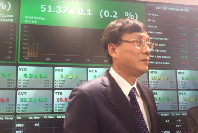Chủ tịch UBCKNN Vũ Bằng: Huy động vốn năm 2015 đạt mức cao