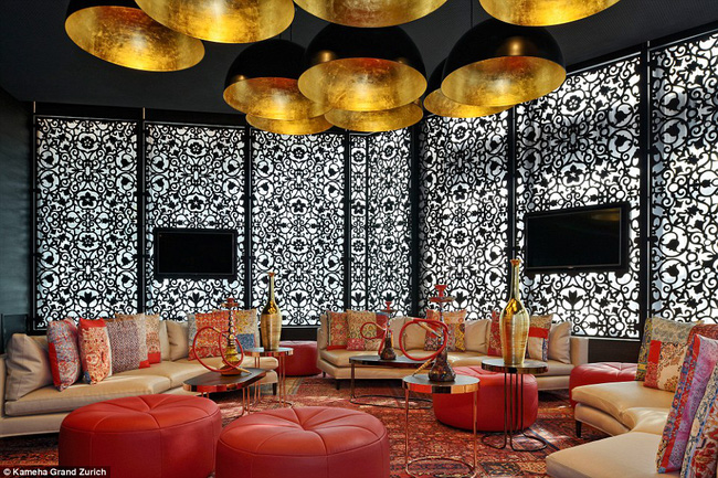 Ngỡ ngàng với thiết kế khách sạn màu sắc độc và lạ ở Thụy sỹ
