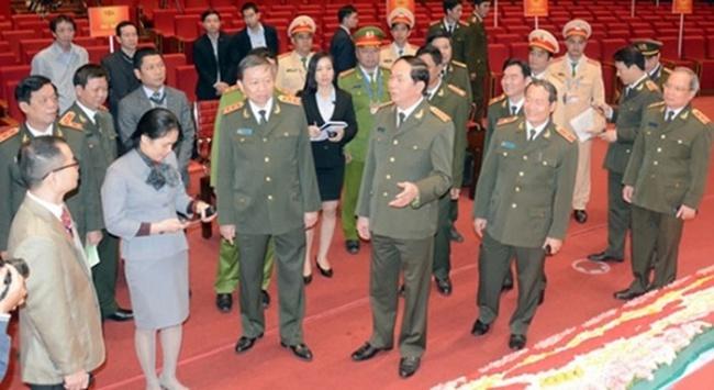 Bên trong Trung tâm Chỉ huy bảo vệ Đại hội Đảng
